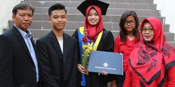 8. Separuh Mahasiswa UGM lulus dengan Predikat Cumlaude